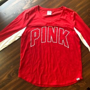 PINK mid length sleeve shirt
